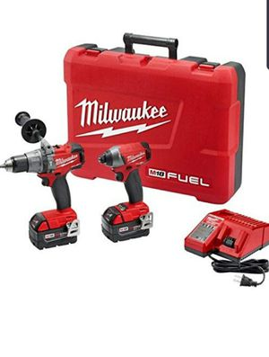 Milwaukee 2897-22 M18 Fuel 2-Tool Combo Kit for Sale in Tucson, AZ