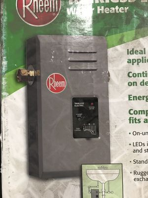 Tankless water heater for Sale in Stockton, CA