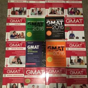 GMAT Books Like New for Sale in Milpitas, CA
