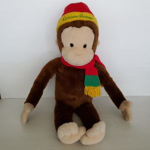 "Macy's Curious George 24"" Plush Stuffed Animal Doll for Sale in Brookfield, IL"