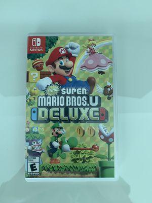 Super Mario Bros U Deluxe Nintendo switch for Sale in Miami, FL