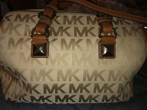 Tan and brown MK purse.  Good condition. for Sale in Tampa, FL