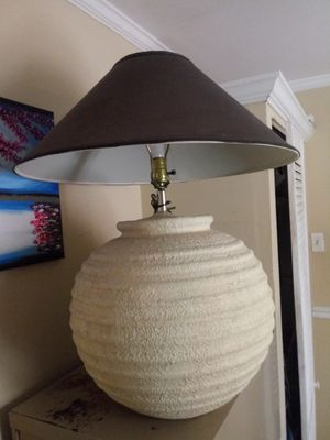 Large lamp for Sale in Raleigh, NC