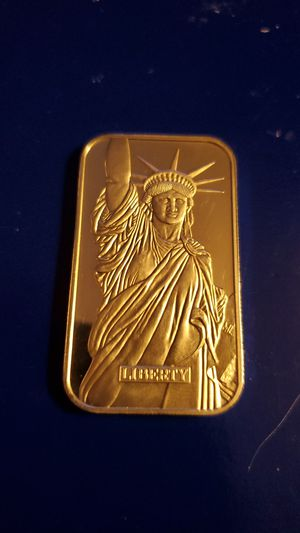 Statue of Liberty Silver Bar..Liberty Trade Silver 1984 for Sale in Middle River, MD