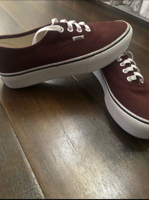 Vans off the wall shoes with high platform for Sale in West Covina, CA