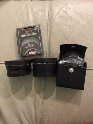 Filtros y accesorios para cámara 58mm for Sale in Miami, FL