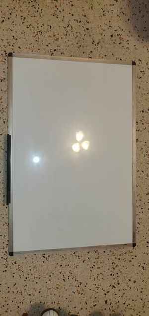 Magnetic Dry Erase White Board (Brand New, used for two days, No scratches) for Sale in Melbourne, FL