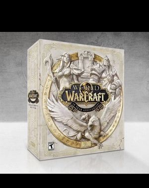 World of Warcraft Collectors Edition PC for Sale in New York, NY