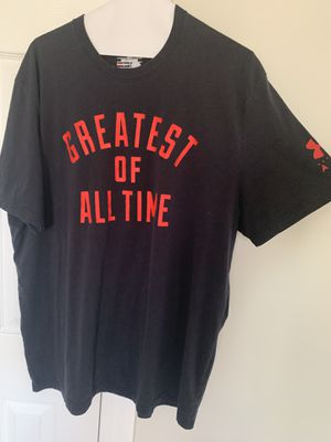 Muhammad Ali Under Armour shirt XL GOAT for Sale in Sterling, VA