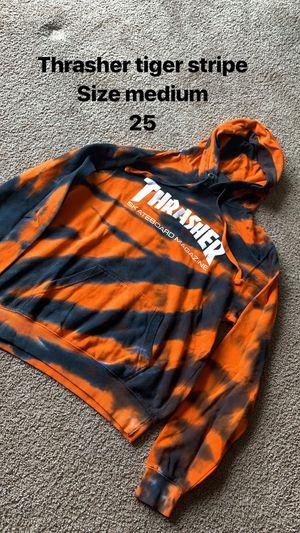 Thrasher tiger stripe for Sale in Richmond, CA