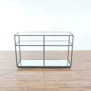 Zuo Modern Kure Console Table In Distressed Black (1034979) for Sale in South San Francisco, CA