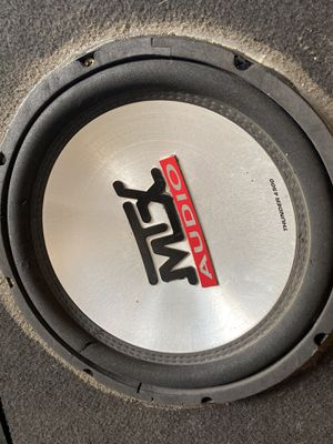 Mtx audio speakers and amp for Sale in Tulare, CA
