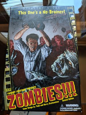 ZOMBIES!!! The board game for Sale in Los Angeles, CA