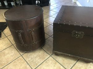 End Tables that are made from Trunks. for Sale in Payson, AZ