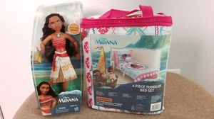 Moana doll & bed set for Sale in Princeton, TX