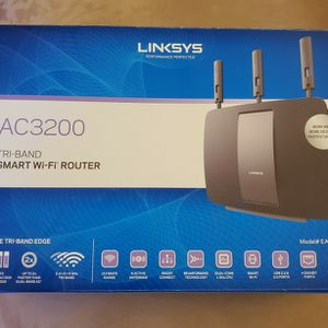 Linksys EA9200 AC3200 Tri-Band Smart Wi-fi Router (802.11 AC,USB 3.0,2.0) New for Sale in Scottsdale, AZ