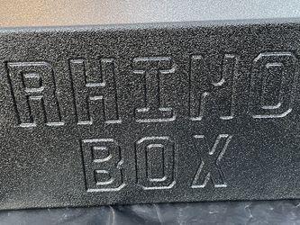 Sub Box 12 Inch Rhino Box for Sale in Houston,  TX