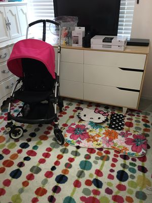 Bugaboo bee 🐝 stroller with many extras everything Is NEW TO LIKE NEW for Sale in Los Angeles, CA