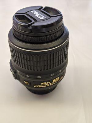Nikon 18 - 55mm lens for Sale in Lodi, CA