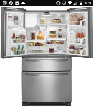 Whirlpool WRX735SDBM 25.0 cu. ft. French Door Refrigerator w/ Refrigerated Drawer - Stainless Steel for Sale in Denver, CO