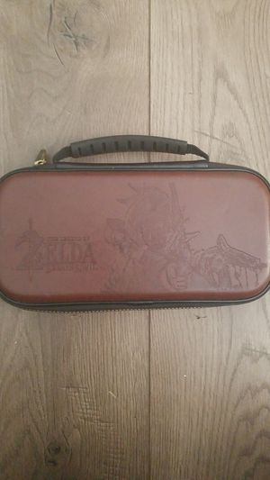 Switch Case Breath of the Wild Edition for Sale in Clearwater, FL