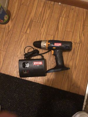 Ryobi 18v drill and charger for Sale in Bonaire, GA