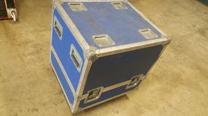 CALZONE ROADIE ON WHEELS STORAGE SHIPPING CASE 24.5 X 21.5 X 28 BLUE for Sale in Pomona, CA