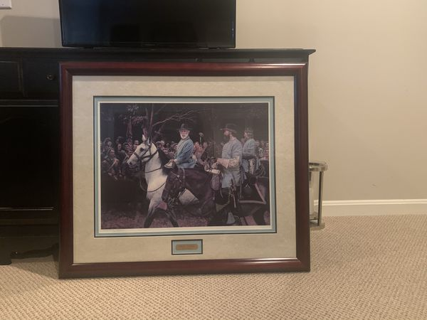 Dan Stivers Silent Tribute 34x29 framed picture
