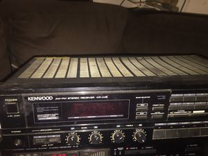 KENWOOD AM-FM Stereo Receiver for Sale in College Park, GA