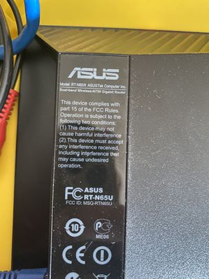 ASUS Router RT-N65R for Sale in Sacramento, CA