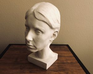 Art Student Head Mold for Sale in Seattle, WA