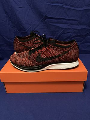 University red flyknit racer for Sale in Mansfield, TX