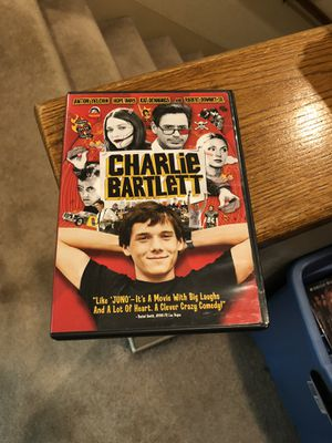Charlie Bartlett DVD Movie 2007 Anton Yelchin Robert Downey Jr Hope Davis for Sale in Buena Park, CA