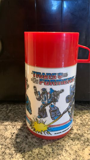 1987 Transformers lunch box thermos for Sale in Mesa, AZ