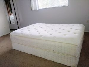 LIKE NEW FULL MATTRESS & SPRING BOX! for Sale in Clearwater, FL