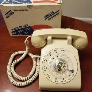 Model 500 Rotary Desk Telephone Beige for Sale in Randolph, NJ