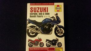 Suzuki Bandit Haynes Manual for Sale in Chandler, AZ
