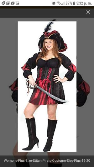 Woman pirate costume for Sale in Bell, CA