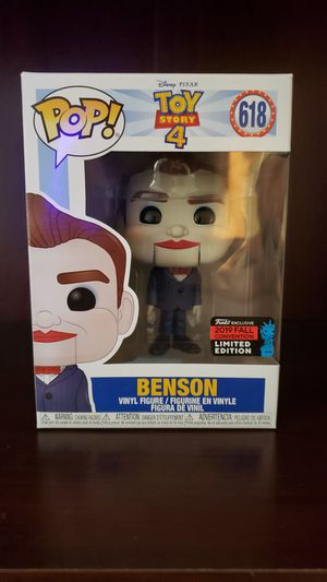 Funko Pop Toy Story 4 Benson Nycc Exclusive for Sale in Fellsmere, FL
