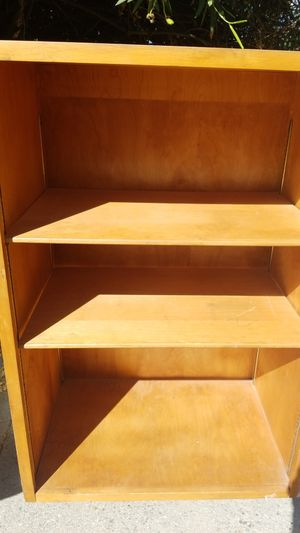 3 Bookshelves and one cabinet $5 each must go today for Sale in Lake Elsinore, CA