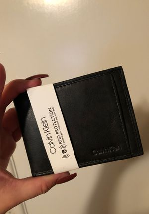 CALVIN KLEIN WALLET MENS for Sale in San Bernardino, CA
