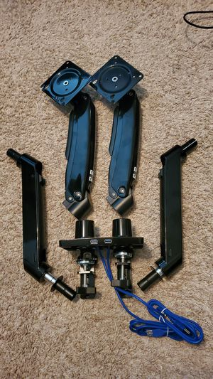 """ErGear 22-35"""" Premium Dual Monitor Stand Mount for Sale in Round Rock, TX"""