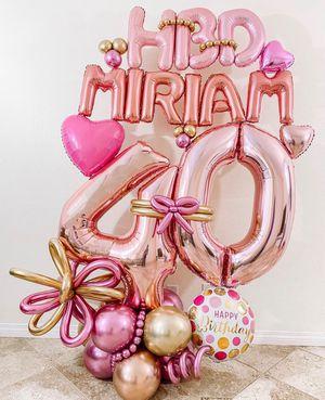 Balloon bouquets / bouquets de globos for Sale in Venus, TX