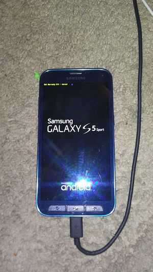 Galaxy s5 sport for Sale in Bristol, PA