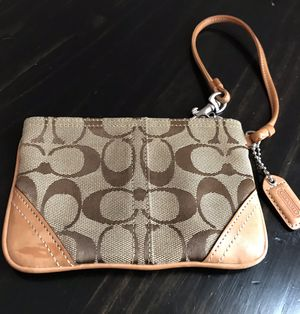 Signature Print Coach Wristlet for Sale in Arvada, CO