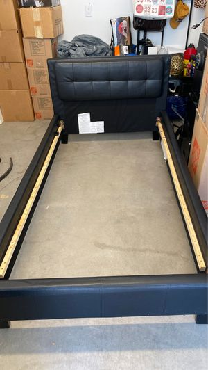 Twin platform bed with mattress for Sale in Denver, CO