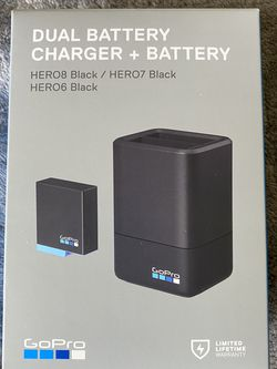 GoPro Dual Battery Charger for GoPro Hero6/7/8 for Sale in Fremont,  CA