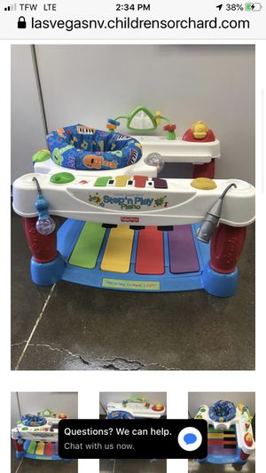 Fisher Price Step & Play Piano for Sale in Las Vegas, NV