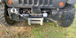 Winch and front bumper for Jeep Wrangler for Sale in Channelview, TX