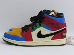 """Air Jordan 1 Mid """"Fearless Blue The Great"""" Size 9 for Sale in Miami, FL"""
